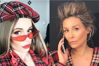 Doda i Małgorzata Rozenek w niemal identycznej marynarce! Która lepiej?