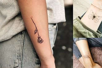Małe tatuaże 2019 - galeria niezwykłych wzorów dla dziewczyn