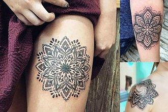 Tatuaże mandala - galeria inspirujących wzorów dla kobiet
