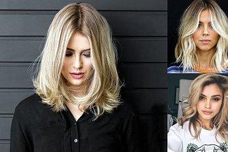 17 pomysłów na półdługie cięcie dla blondynek! [galeria]