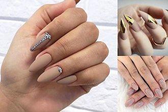 Nude manicure - galeria najpiękniejszych pomysłów z sieci