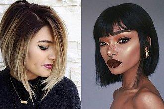 20 pomysłów na półkrótkie cięcie włosów - galeria stylowych fryzur