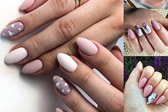 Różowy manicure - galeria unikatowych i dziewczęcych zdobień