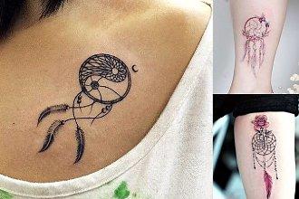 Tatuaż łapacz snów - 18 niesamowitych wzorów dla kobiet