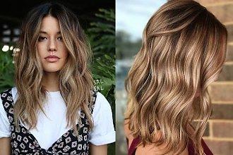 Refleksy i balejaż w przepięknych odcieniach - efekt słonecznego rozjaśnienia włosów gwarantowany!