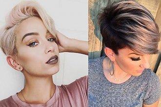 18 propozycji na fryzurę pixie - galeria modnych cięć