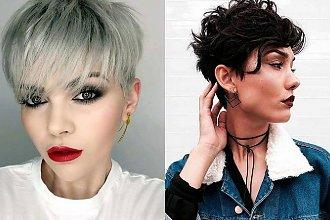 Krótkie i półkrótkie fryzury - galeria kobiecych trendów 2019