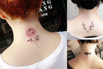 Tatuaż na karku - galeria najpiękniejszych wzorów z sieci