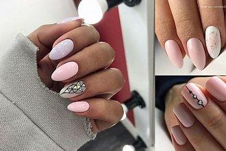 Manicure w najmodniejszych odcieniach różu - galeria 2019