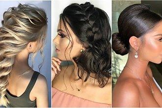 Fryzury na studniówkę 2019: modne upięcia włosów na bal studniówkowy