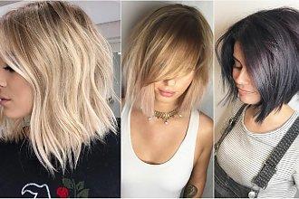 Modne fryzury średnie 2019. Włosy do ramion jeszcze nigdy nie wyglądały tak uroczo!