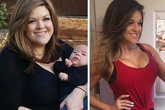 33-letnia mama sądziła, że po bliźniaczej ciąży nigdy nie odzyska figury! Od tamtej pory zmniejszyła garderobę o OSIEM rozmiarów!