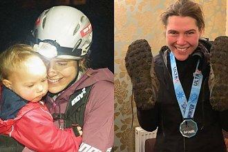 Karmiąca matka ustanowiła nowy rekord w wyścigu na 430 km, mimo że po drodze odciągała pokarm!