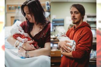 Dziecko, które urodziło się z bezmózgiem przeżyło TYDZIEŃ! Światu pokazali zdjęcia córki