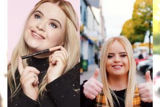 Dziewczyna z zespołem Downa reklamuje kosmetyki. Czyżby szykowała się rewolucja?