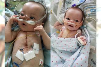 """Mały chłopiec w ciągu 24 godzin przeszedł 25 ataków serca... """"Lekarze byli pewni, że mój synek umrze"""""""