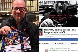 """Zbiórka """"Zapełnijmy ostatnią puszkę Pana Prezydenta dla WOŚP"""" dla Pawła Adamowicza ma już ponad 6 MILIONÓW ZŁOTYCH! Wpłaciliście już?"""