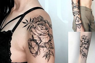 28 oryginalnych i pomysłowych tatuaży dla dziewczyn! [GALERIA]