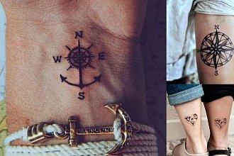 Tatuaże z motywem podróży - galeria ciekawych wzorów