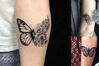 Tatuaż motyl - 25 wyjątkowych wzorów dla dziewczyn