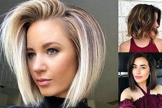 Półkrótkie fryzury, jak z najlepszych katalogów - te cięcia to HIT