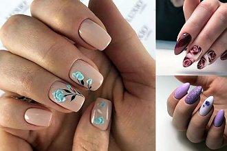 28 nietuzinkowych pomysłów na kwiatowy manicure! [GALERIA]