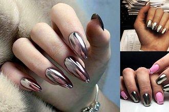 Metallic manicure - 15 zdobień paznokci, od których ciężko oderwać wzrok!