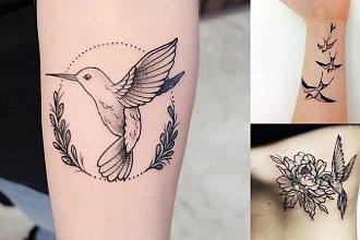 Tatuaże ptaki - 26 unikatowych i dziewczęcych wzorów