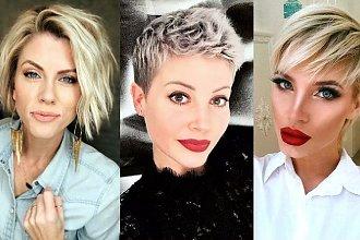 Krótkie fryzury dla kobiet o jasnych włosach - wiosenna galeria