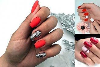 Czerwony manicure - galeria nowoczesnych stylizacji