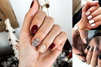 Manicure dla krótkich paznokci - galeria nietuzinkowych stylizacji