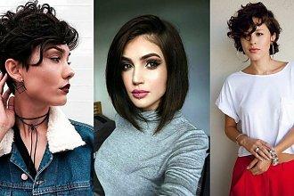 Krótkie fryzury dla brunetek i szatynek - wiosenne odsłony