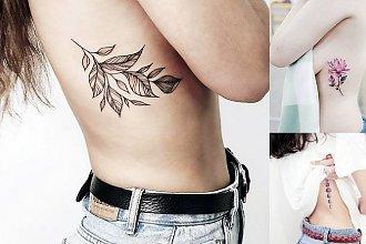 20 najpiękniejszych propozycji na tatuaż w okolicy żeber! [GALERIA]