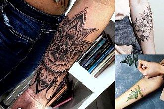 Tatuaż na przedramię - galeria ultrakobiecych wzorów