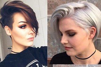 Krótszy bok i długa grzywka - te fryzury pokochały dziewczyny z Instagrama! Zobaczcie, jak wygląda najmodniejsze cięcie sezonu