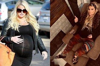 Jessica Simpson urodziła! Pokazała pierwsze zdjęcie dziecka! Teraz rozumiemy, dlaczego brzuch Jessiki był taki DUŻY...