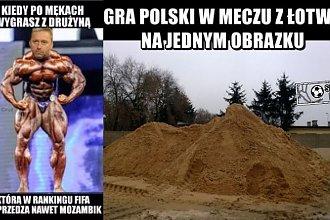 Memy po meczu Polska-Łotwa. Uwagę skradły skarpetki Milika! Widzieliście?!