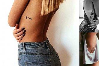 21 hipnotyzujących tatuaży w okolicy żeber dla dziewczyn