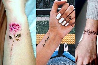 Tatuaże na nadgarstek - 20 najciekawszych wzorów dla kobiet