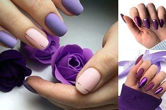 Fioletowy manicure - 21 wiosennych zdobień, które robią wrażenie