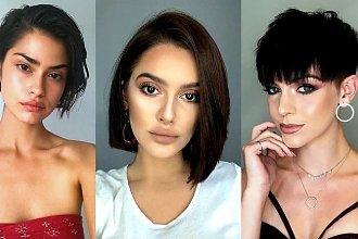 Krótkie fryzury dla brunetek i szatynek - katalog fryzjerskich nowości