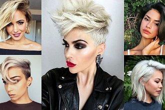 Krótkie i półkrótkie fryzury - galeria stylowych cięć