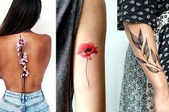 Tatuaże inspirowane naturą – galeria uroczych i dziewczęcych wzorów