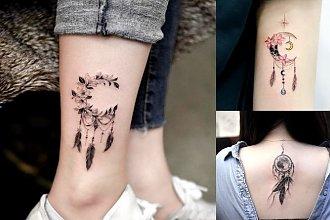 Tatuaż łapacz snów - galeria kobiecych i subtelnych wzorów