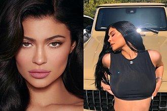 """Kylie Jenner wprawiła fanów w osłupienie! Opublikowała selfie bez makijażu i opowiedziała o... """"nowym dziecku""""!"""
