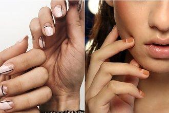 Subtelny manicure - modne paznokcie dla minimalistek [trendy i inspiracje]