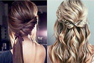 Romantyczne fryzury - inspiracje z wybiegów pokazów mody [trendy wiosna-lato 2019]
