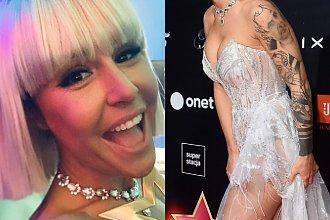 """Blanka Lipińska niczym Lady Gaga na gali Plejady. """"Wyglądasz jak milion dolarów, ale nie daj się namawiać na TAKĄ FRYZURĘ"""""""