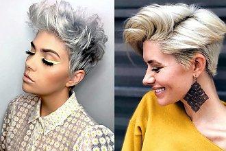 Fryzury dla włosów krótkich - najmodniejsze strzyżenia pixie i undercut
