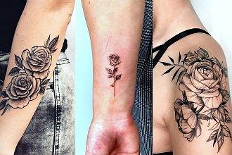 Tatuaż róża - 25 kobiecych i ultraciekawych wzorów